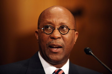 Former Dallas Mayor Ron Kirk testifies before the Senate Finance Committee on his nomination to be US Trade Representative on March 9, 2009 on Capitol Hill in Washington.      AFP PHOTO/ TIM SLOAN  (Newscom TagID: afplivetwo808949)     [Photo via Newscom]