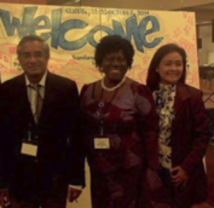 Three members of the Global Farmer Network were invited to participate at the World Economic Forum in Geneva, Switzerland in October 2014 as part of the New Vision for Agriculture initiative: V. Ravichandran (India); Lydia Sasu (Ghana); Rosalie Ellasus (Philippines).