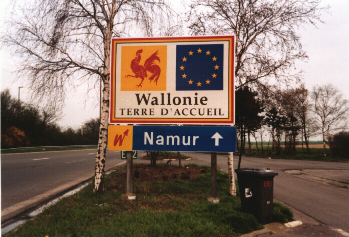 wallonie-panneau-routier